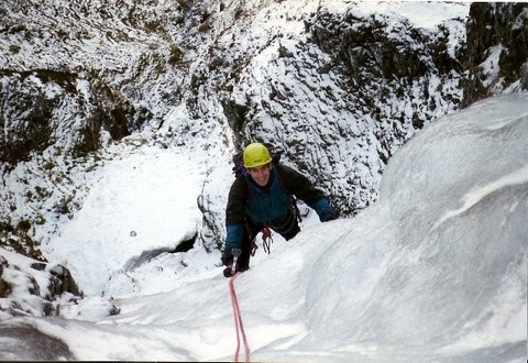 Matt on No. 6 Gully, Glencoe