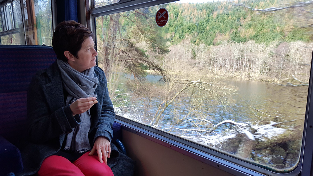 Contemplation on the Whisky Train