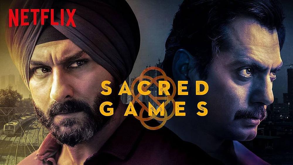 sacred games web series , netflix web series