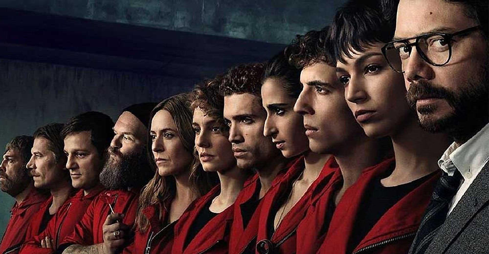 money heist web series on netflix