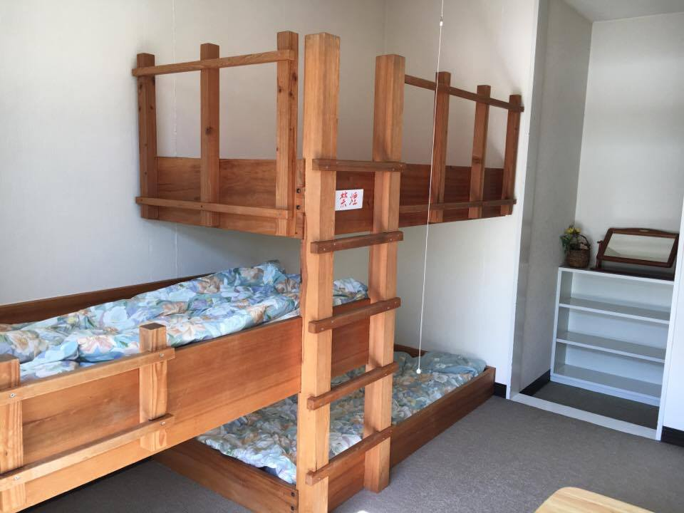 3段ベッドです。