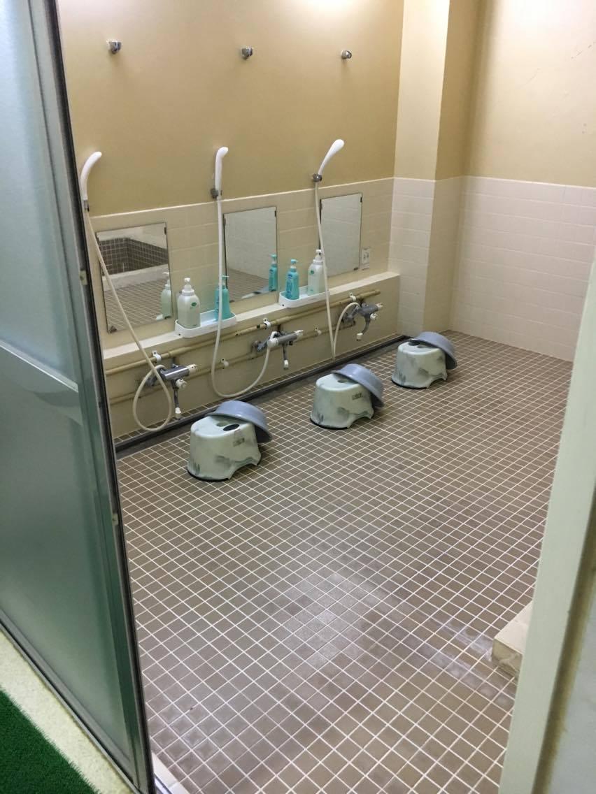 リニューアルしたばかりの大浴場