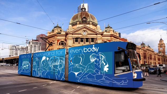 Tram Wrap