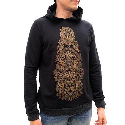 American totem hoodie