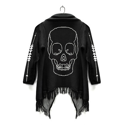 Poncho Skull Edición Limitada
