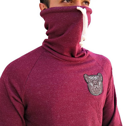Pullover Ninja Totem Bear