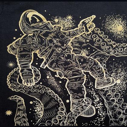 monster space golden black