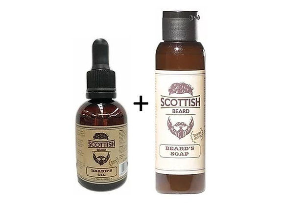 Scottish - Bartpflege - Seife+Öl