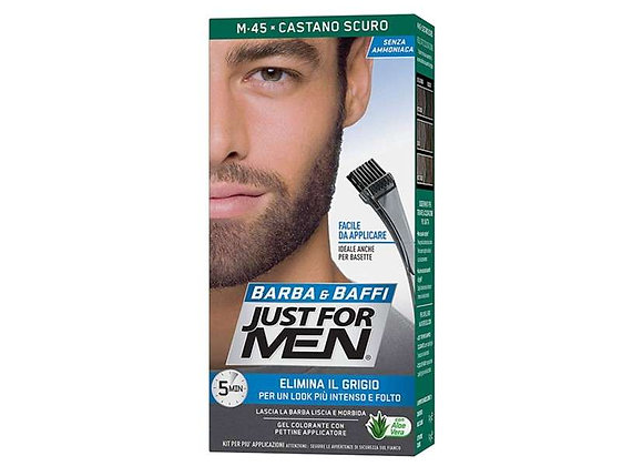 Just for Men - Barttönung - Dunkelbraun - M45