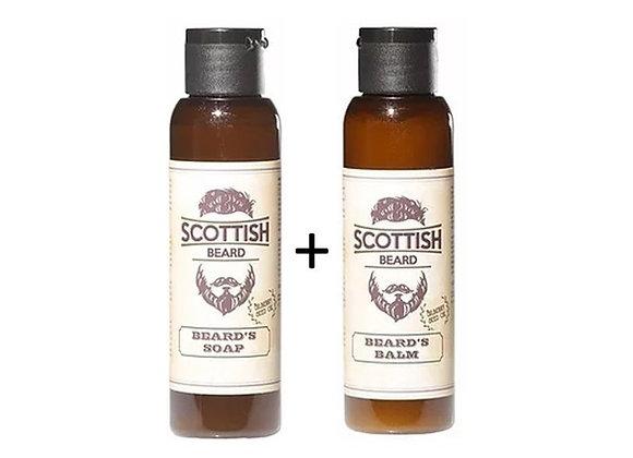 Scottish - Bartpflege - Seife+Balsam