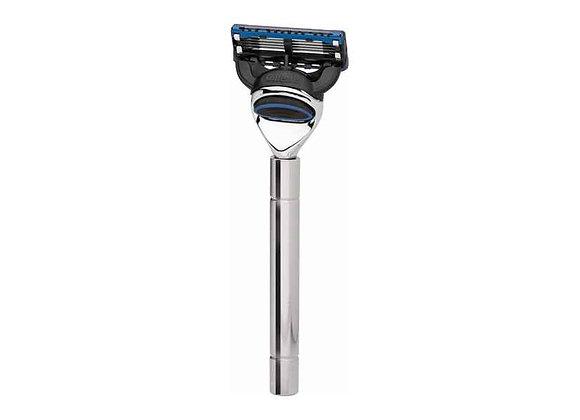 Rasierer - Gillette Fusion - Edelstahl glänzend