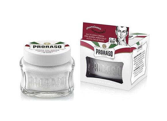Proraso - Sensitive Pre-und After Shave -White - 100ml