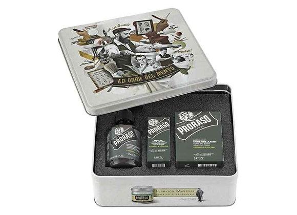 Proraso - Bartpflege Set - Cypress & Vetyver