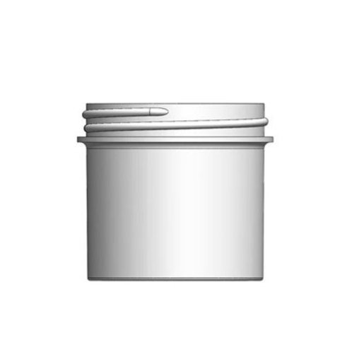 Clearance- 3 oz White PP Wide Mouth Jar