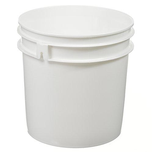 Clearance- 1 Gallon Plastic Pail