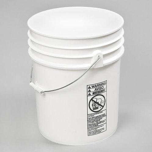 UN Rated 5 Gallon Plastic Pail