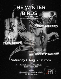 THE WINTER BIRDS FLYER