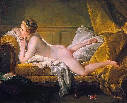 François_Boucher,_Ruhendes_Mädchen_(1751