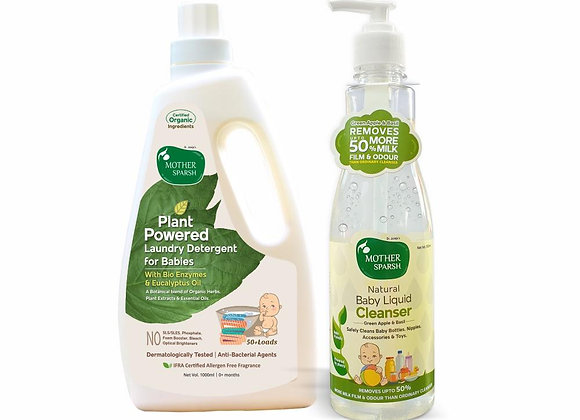 Plant Powered Baby Combo : Cleanse