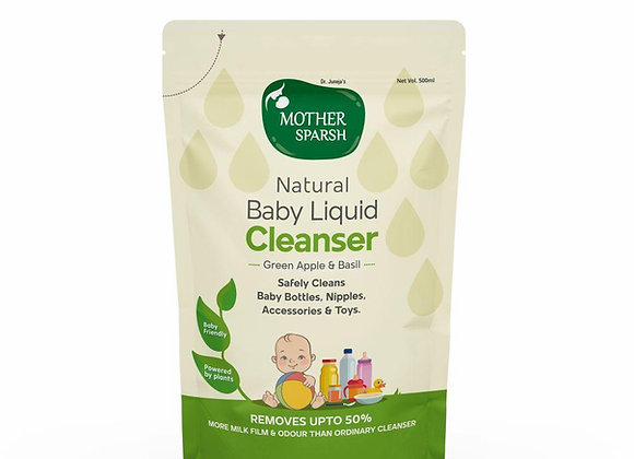 MOTHER SPARSH LIQUID CLEANSER  500 ML (REFILL PACK)