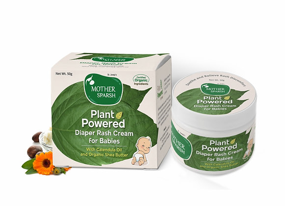 Mother Sparsh Plant Powered Diaper Rash Cream for Babies