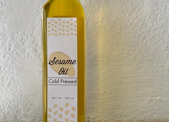 Cold Pressed Sesame Oil - 500 ml