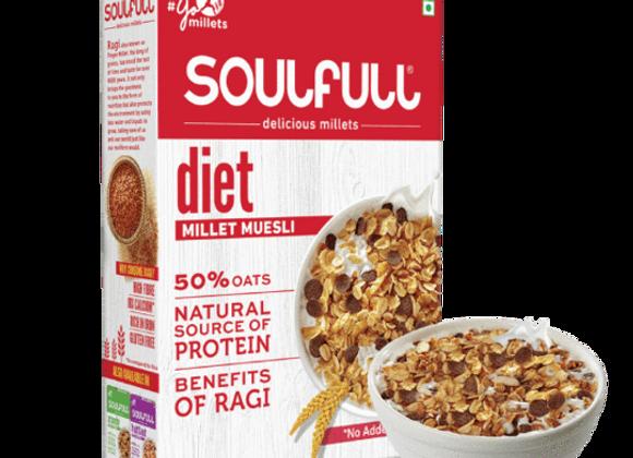 Soulfull Millet Muesli Diet - 400 gms