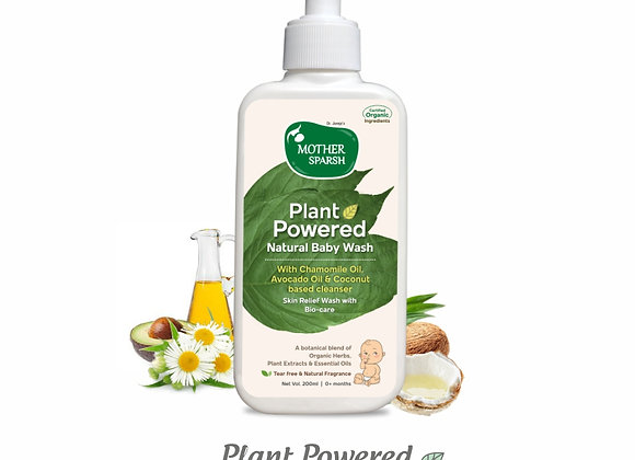 Mother Sparsh Plant Power Natural Baby Wash