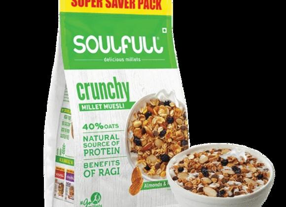 Soulfull Millet Muesli Crunchy - 700 gms