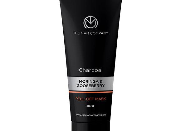 CHARCOAL PEEL OFF MASK | MORINGA & GOOSEBERRY - 100 GMS