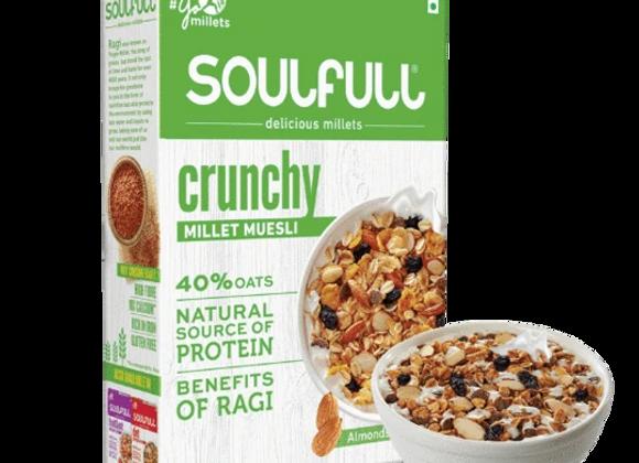 Soulfull Millet Muesli Crunchy - 400 gms