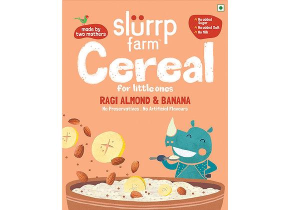 Ragi, Almond and Banana Cereal | Porridge Mix - 200 gms