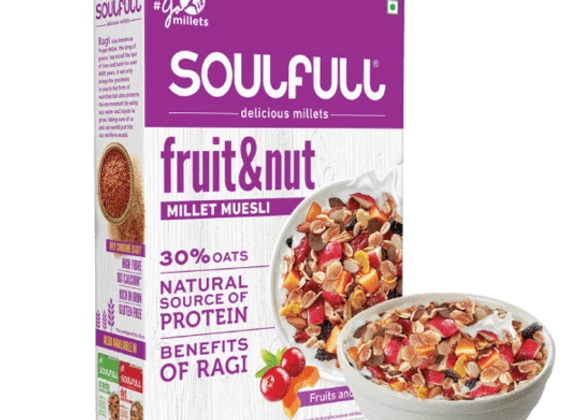 Soulfull Millet Muesli Fruit and Nut - 400 Gms