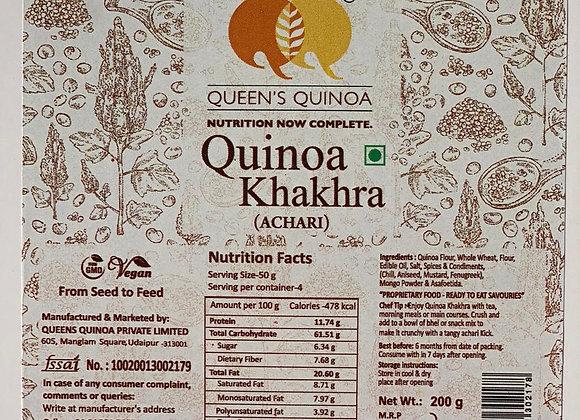 Quinoa Khakra - Achari (200 gms)