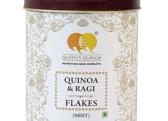 Queens Quinoa, Quinoa & Ragi Flakes Mint - 100 gms
