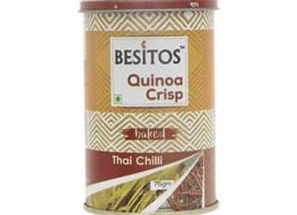 Quinoa Baked Crisps - Thai Chilli - 75 gms