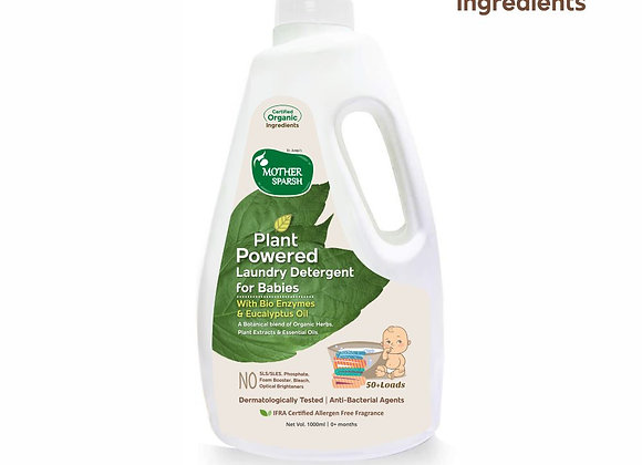 Mother Sparsh Baby Laundry Liquid Detergent (Powered by Plants)