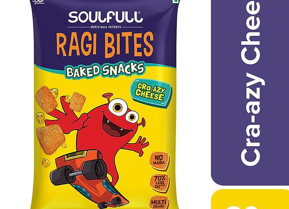 Soulfull Ragi Bites Cra-azy Cheese - 30 Gms