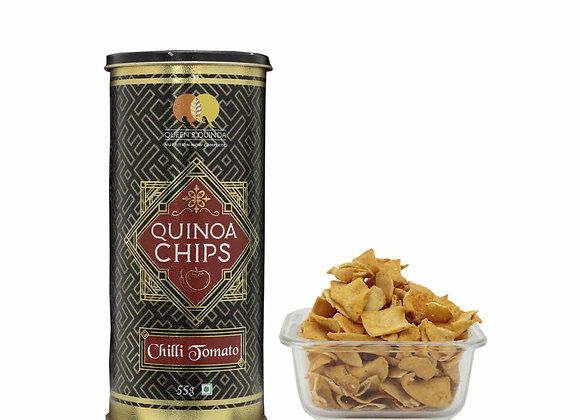 Flavoured Quinoa Chips Chilli Tomato - 55gms