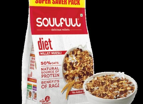 Soulfull Millet Muesli Diet - 700 gms