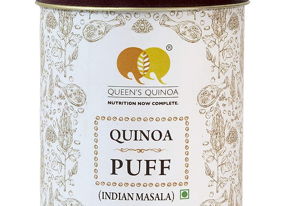 Queens Quinoa Puff India Masala 100 gm