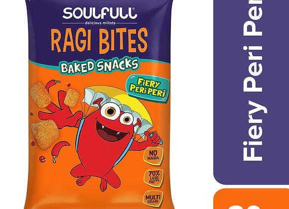 Soulfull Ragi Bites Fiery Peri Peri - 30 gms