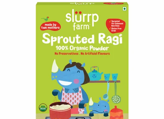 100% Organic Sprouted Ragi Powder (First Food) - 250 gms