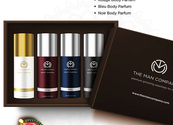 The Multifaceted Man - Combo (480 ml, Pack of 4)