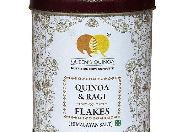 Queens Quinoa, Quinoa & Ragi Flakes Himalayan Salt - 100 Gms