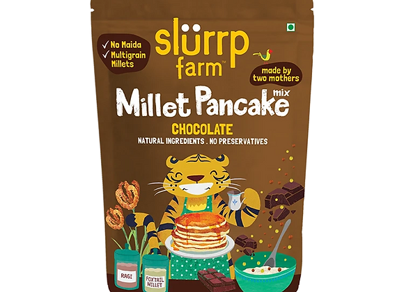 No Maida Millet Pancake Mix Chocolate