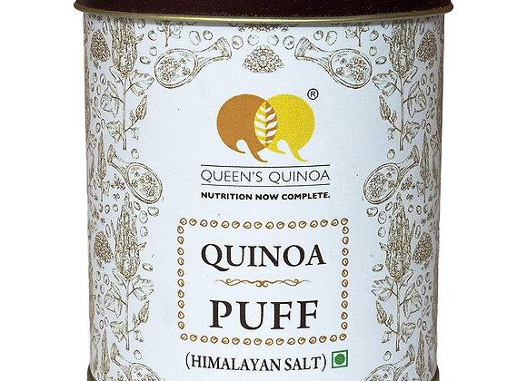 Queens Quinoa Puff Himalayan Salt - 100 gm