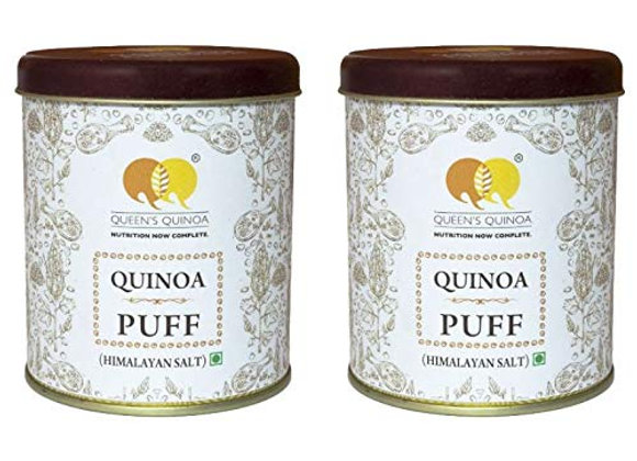 Queens Combo of Quinoa Puff Himalayan Salt (200 Gms) - Pack of 2