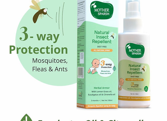 Mother Sparsh Natural Insect Repellent Spray