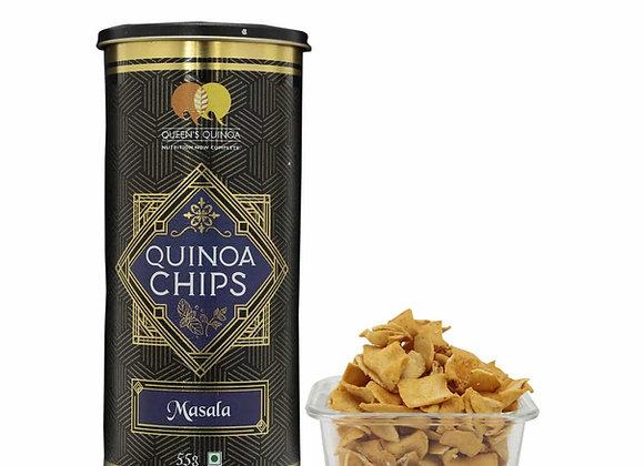 Flavoured Quinoa Chips - Masala - 55 gms